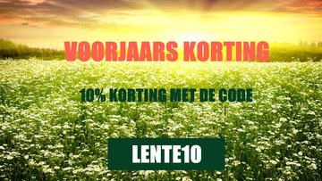 Cresty Products Lente Korting
